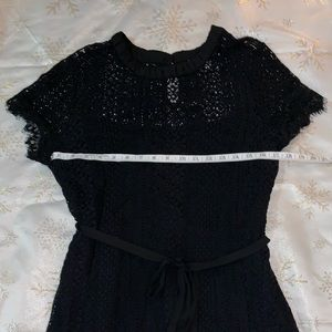 LC by Lauren Conrad Black Lace Dress